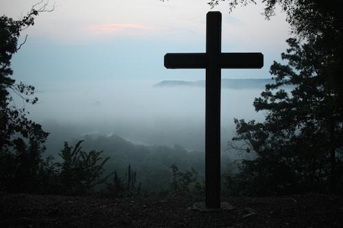 croix paysage