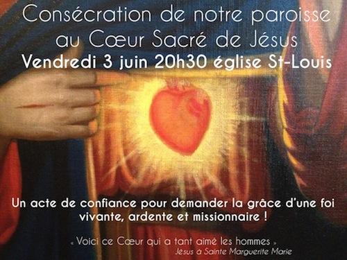 Consécration paroisse